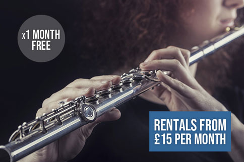 Instrument Rentals from £13 per month