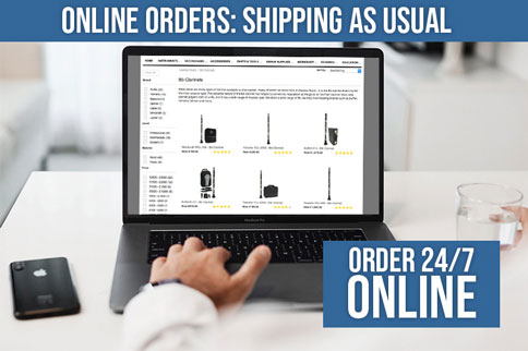Online Orders : Shipping as usual