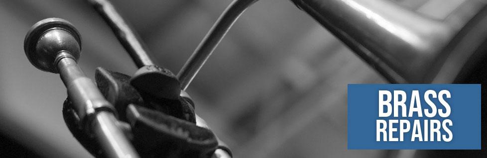 Brass Repairs at Dawkes Music